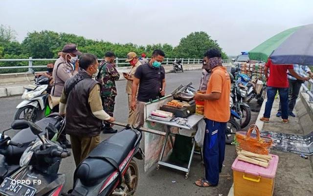 Tak Mengenal Hari Libur, Operasi Yustisi Penegakan Prokes Dilakukan di Brebes Kota