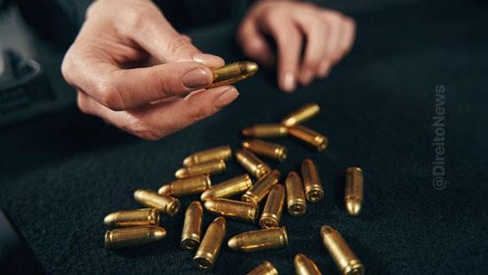 apreensao municao arma implica atipicidade conduta