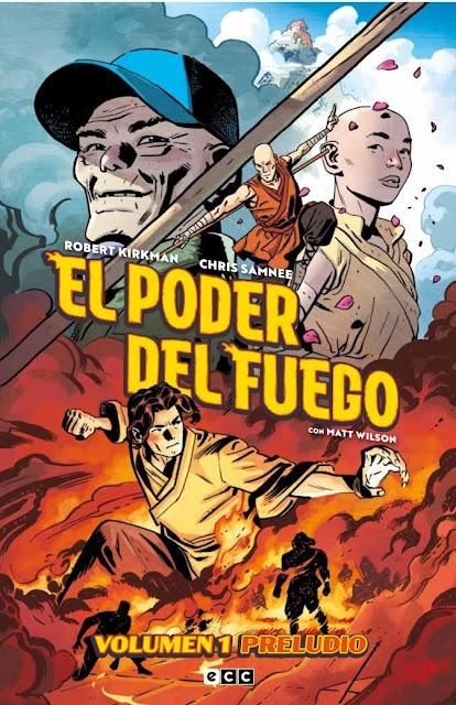 Reseña de El Poder del Fuego: Preludio, de Robert Kirkman y Chris Samnee - ECC Ediciones.