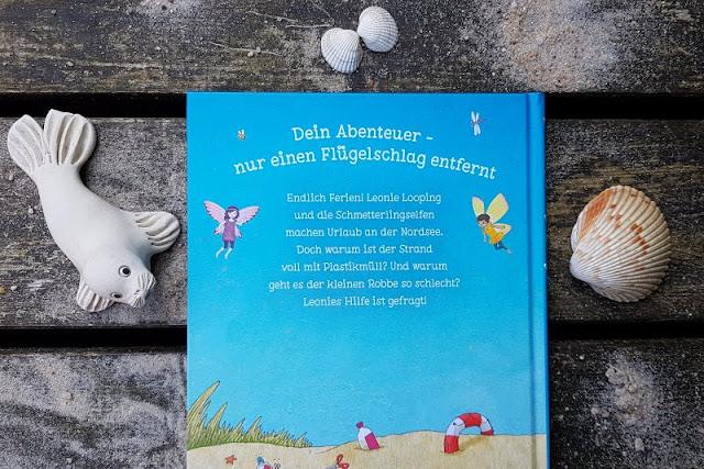 """Heute ein Buch! Die elfenstarke Umwelt-Kinderbuch-Serie """"Leonie Looping"""" und das Thema """"Müll im Meer"""". An Strand und Meer hat Müll nichts zu suchen, das zeigt diese tolle Buchreihe für Erstleser."""