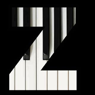 Abecedario de Teclado de Piano. Piano Keybord Alphabet.