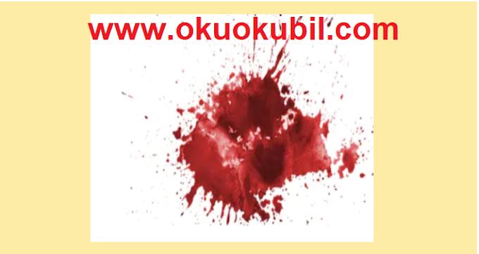 Rüyada Kan Bulaşması Ve Kan görmek Ne Manadadır?