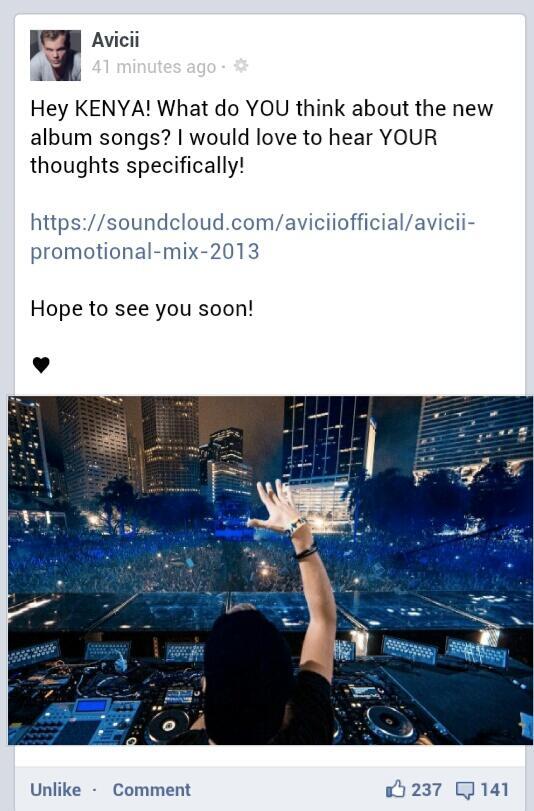 Super DJ Avicii Coming To Kenya
