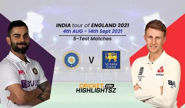 India tour of England 2021 - 5 Tests