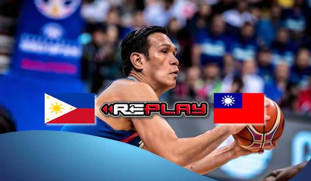 Video Playlist: Gilas Pilipinas vs Chinese Taipei game replay FIBAWC Asian Qualifiers