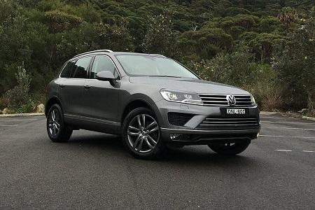 Mobil Volkswagen Touareg