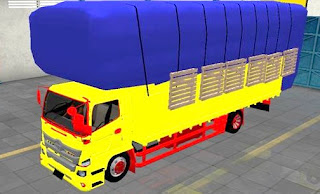 Mod Truck Hino 500 Gayor Bak Full