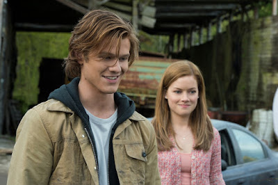 Lucas Till and Jane Levy in Monster Trucks (1)