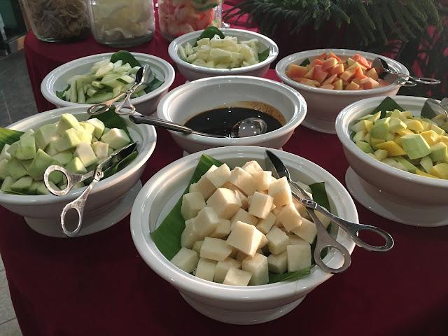 salad/ pencuci mulut