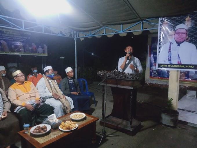Polsek Kempo Bareng Pemdes Dorokobo, Peringati Isra' Mi'raj, Kades: Bangga Punya 2 Hafidz Qur'an