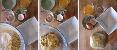 Tarta de pera y manzana (Siempredulces) - Elaboración Paso 4