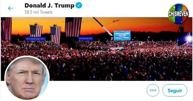 RED SOCIAL PROGRESISTA   Twitter bloqueó el llamado a la Paz de Donald Trump