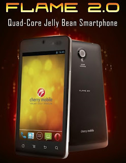 Cherry Mobile Flame 2.0 Quad-core Jelly Bean at Php6,990