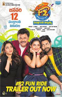 Download F2 Fun and Frustration (2019) Hindi Dubbed HDRip 480p