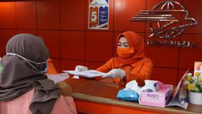 PT Pos Indonesia Siap Salurkan Bansos, Semua Petugas Pastikan Sudah di Vaksin