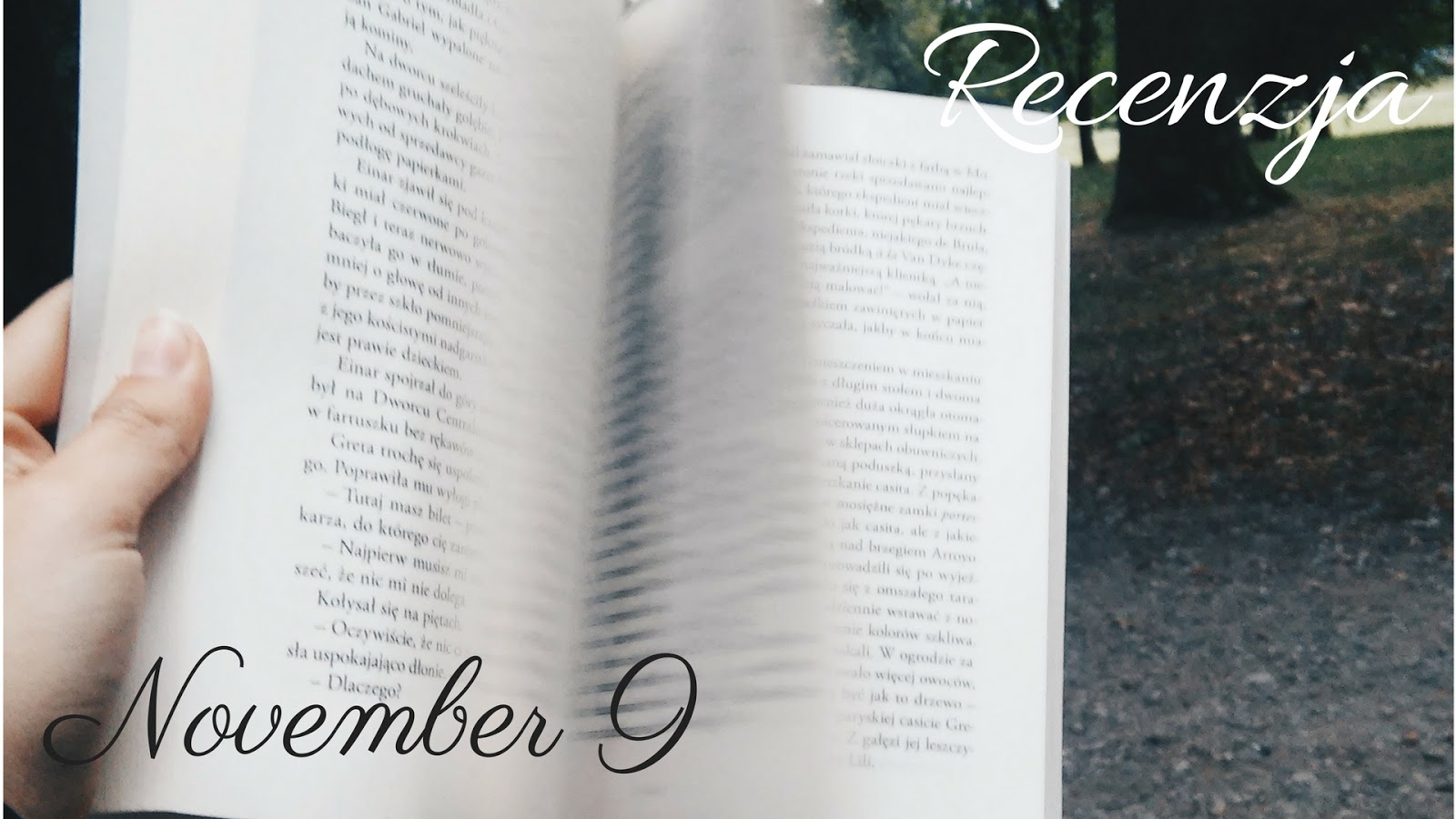 Fioletowy Notes Recenzja November 9 Colleen Hoover