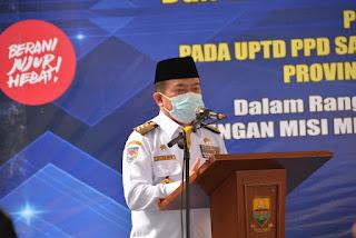 Gubernur Jambi H.Alharis: Zona Integritas Samsat dan RSUD Raden Mattaher Bentuk Komitmen Tata Kelola Pemerintah Bersih