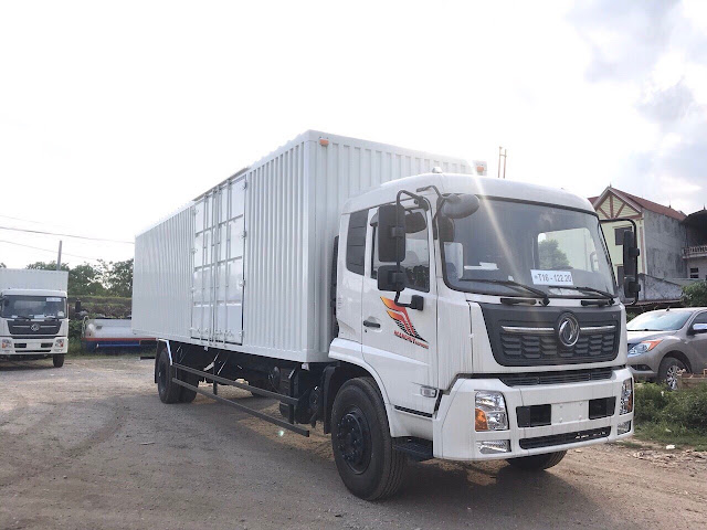 Đóng thùng xe tải Dongfeng