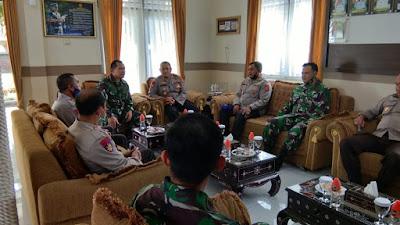 Lanal Mataram Menerima Kunjungan Polairud NTB