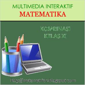 multimedia pembelajaran interaktif matematika bab kombinasi / peluang