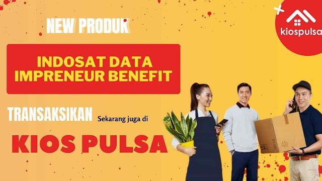 Daftar Harga Indosat Data Impreneur Benefit Terbaru