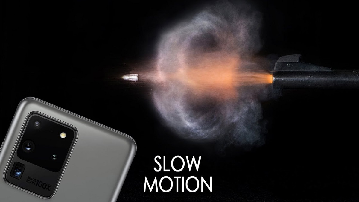 Samsung Galaxy S20 Slow Motion