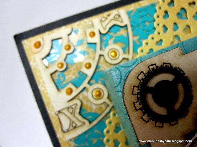 Creations By Patti Steampunk Marci Wall Art