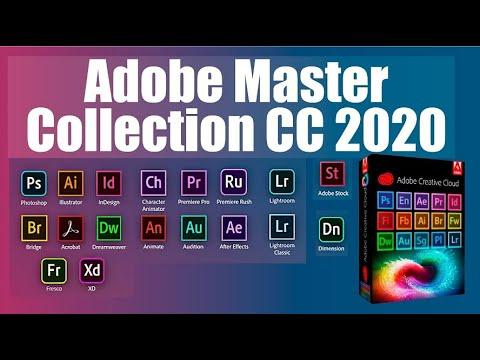 Adobe Master Collection CC 2020 Completo Download Grátis