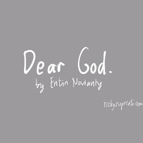 Dear God | Guest Blogger Apr 2019