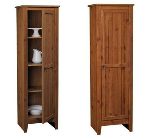 single door pantry cabinet