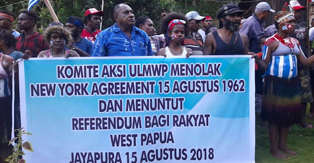 Komite Aksi ULMWP Menolak New York Agreement