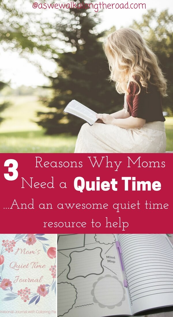 Quiet time for moms