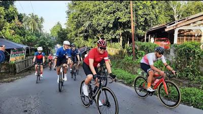 Perkenalkan Destinasi Wisata Super Prioritas Likupang, Bupati JG dan Wabub Ikut Lomba Duathlon