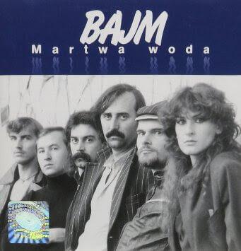 Bajm - Martwa woda okładka albumu