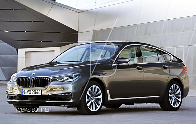 2017 BMW 5 series GT: Designs to The G32