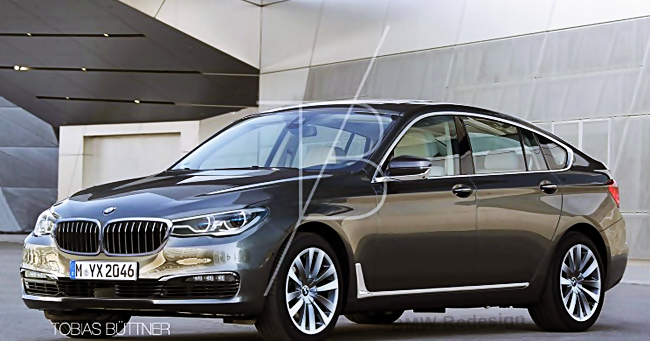 2017 Bmw 5 Series Gt Designs To The G32 Bmw Redesign