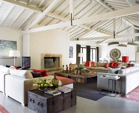Home Design Ideas and Inspirations: Contemporary Romantic ...