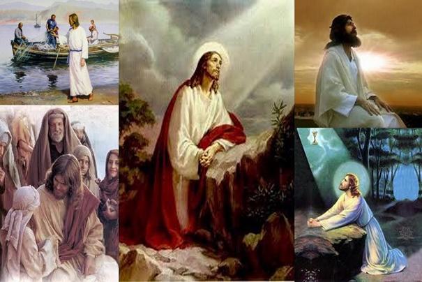 Jesus disse: Pai, é chegada a hora