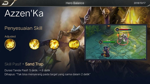 [Guide] Build Azzen'Ka si Tukang Pasir Bisa Quad Arena of Valor
