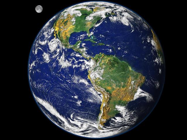 O Que Aconteceria Se a Terra Girasse ao Contrário?