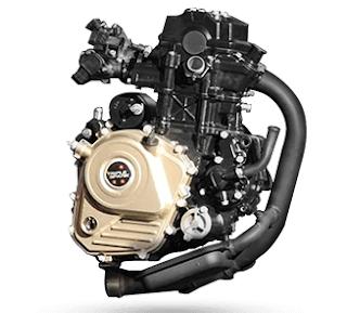Bajaj RS 200 Pulser engine