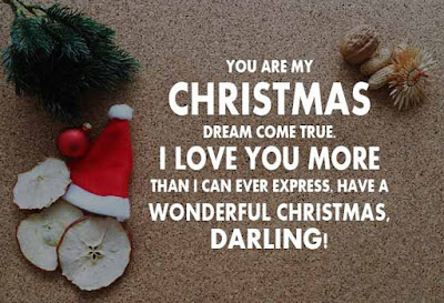 Beautiful Cards With Christmas Love Messages