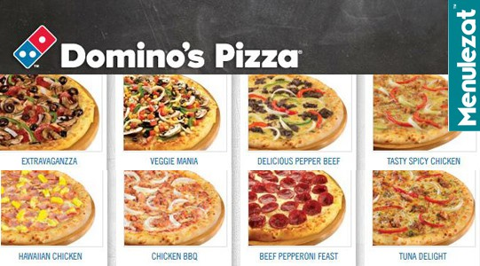 Harga Paket Menu Domino Pizza Delivery Terbaru
