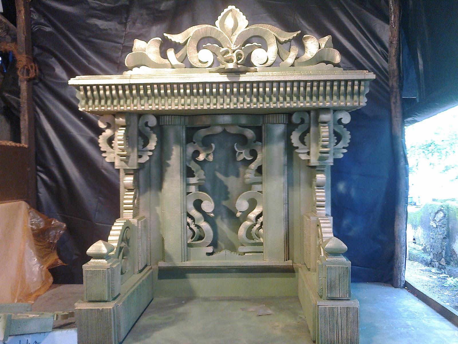 Pics For > Ganpati Decoration Open Makhar