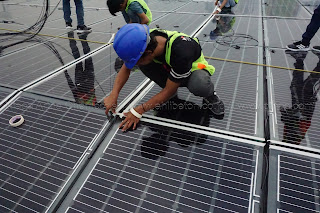 jasa pasang panel surya