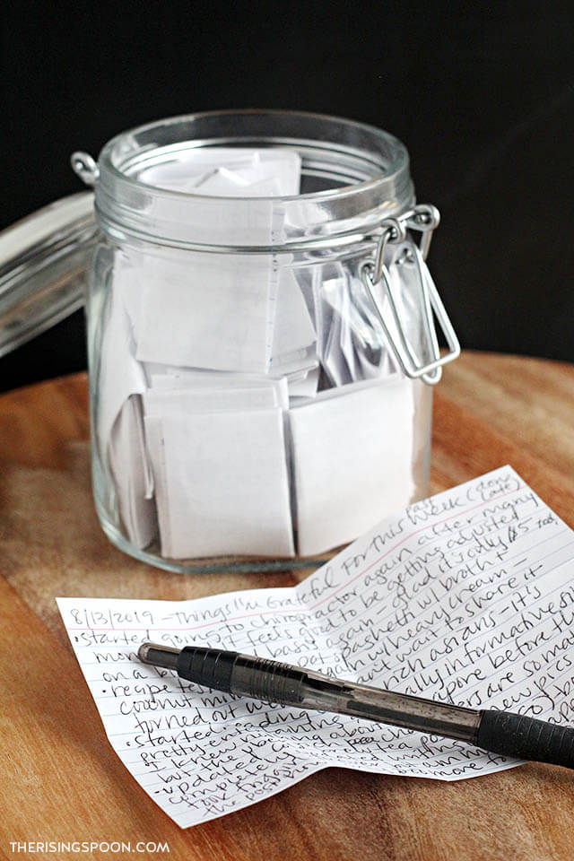 DIY Gratitude Jar + Prompts