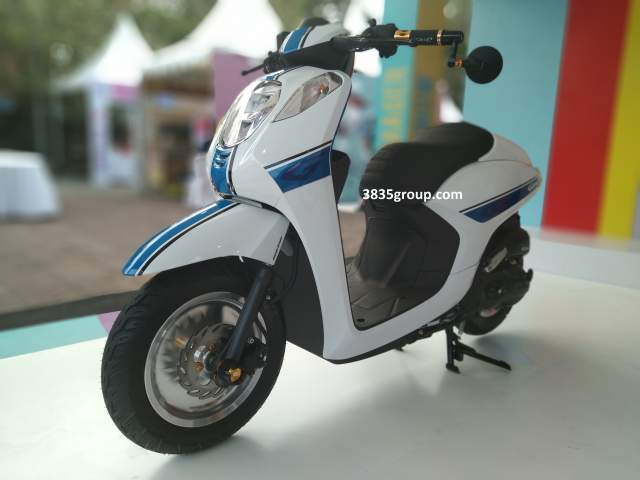 Honda Genio 110 Modifikasi Bali