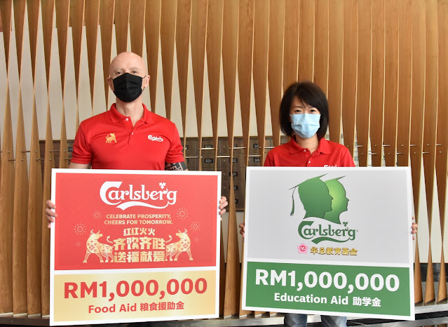 CARLSBERG MALAYSIA GIVES A RAY OF HOPE WITH RM2 MILLION FOOD & EDUCATION AID