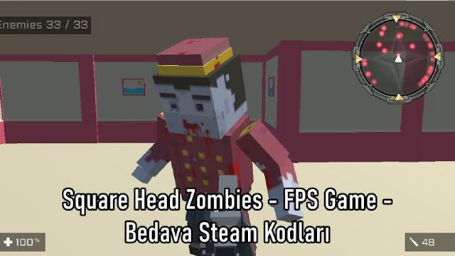 Square Head Zombies - FPS Game - Bedava Steam Kodları