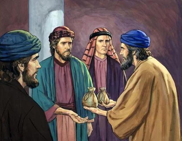 bbiblia ananias e safira